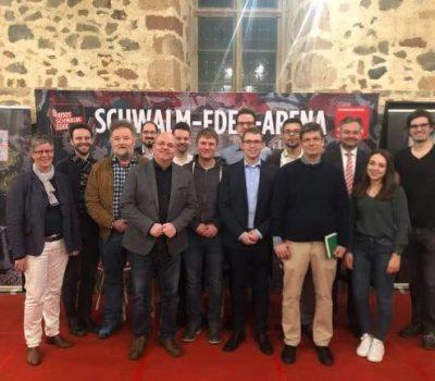 """Schwalm-EDER-Arena zum Thema """"JUGEND und AUSBILDUNG"""""""